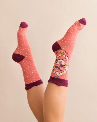 A-Z Ankle Socks - G