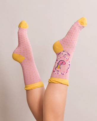 A-Z Ankle Socks - J