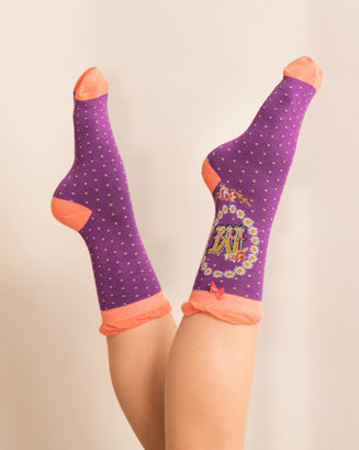 A-Z Ankle Socks - M