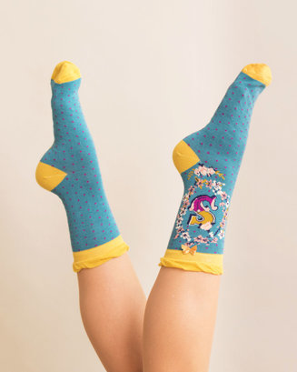 A-Z Ankle Socks - S