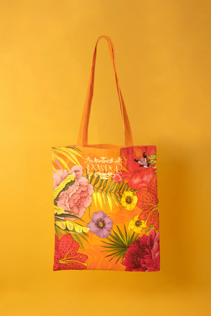 Tote Bag Blooming Jungle