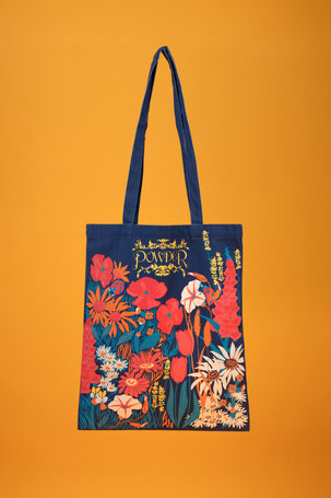 Tote Bag Country Garden - Navy