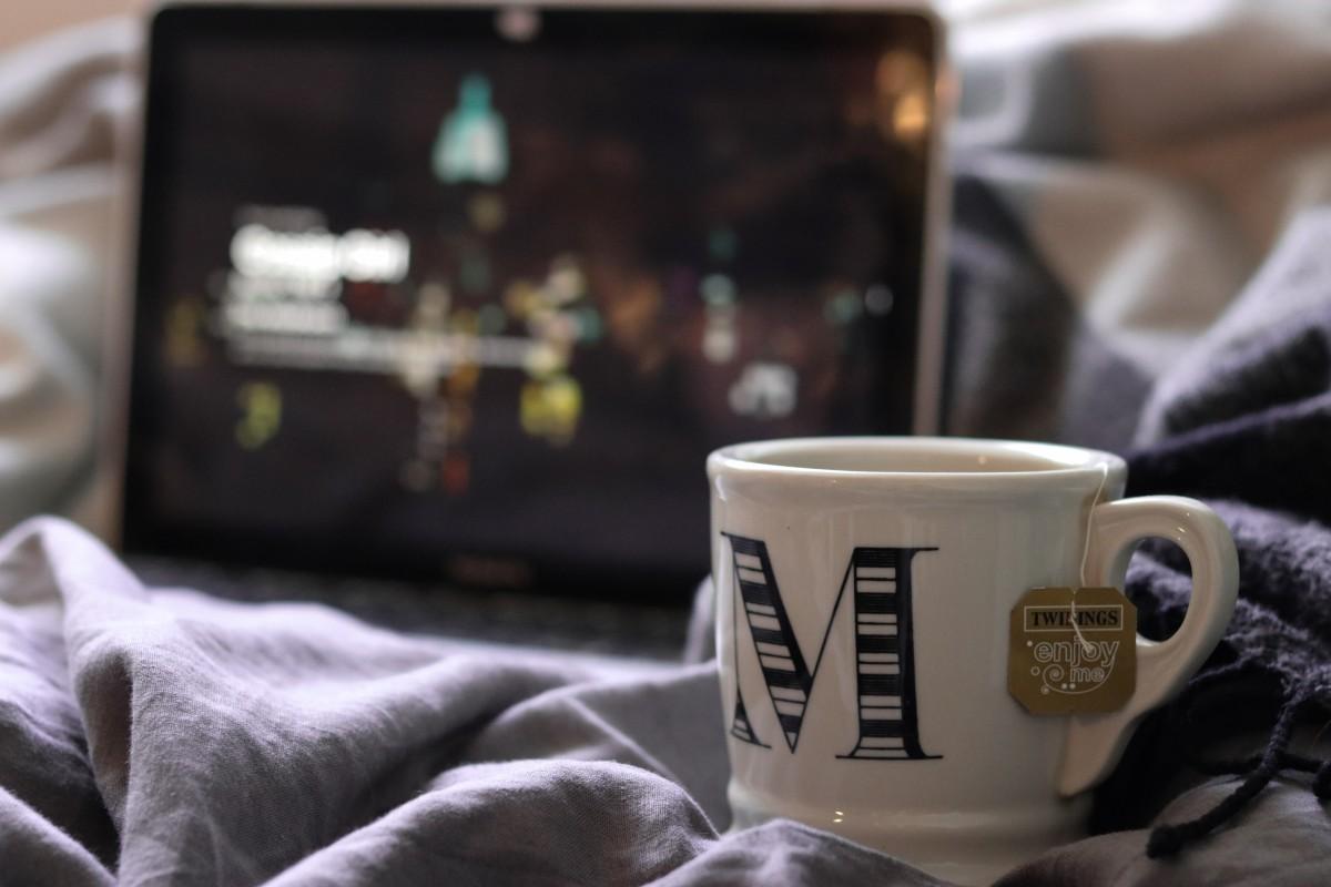 Mug in Bed